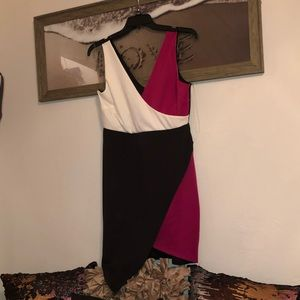 Muti colored party dress